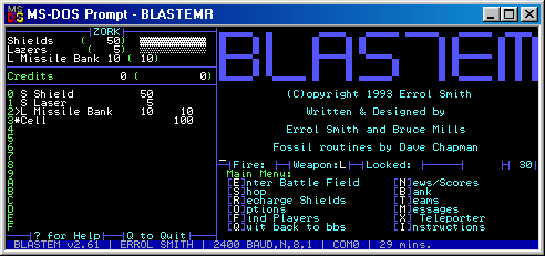 Blastem screenshot 1
